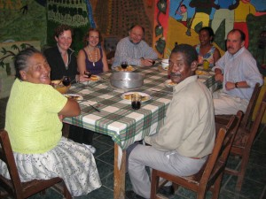 Dinner in the Ecuadorian Cloudforest
